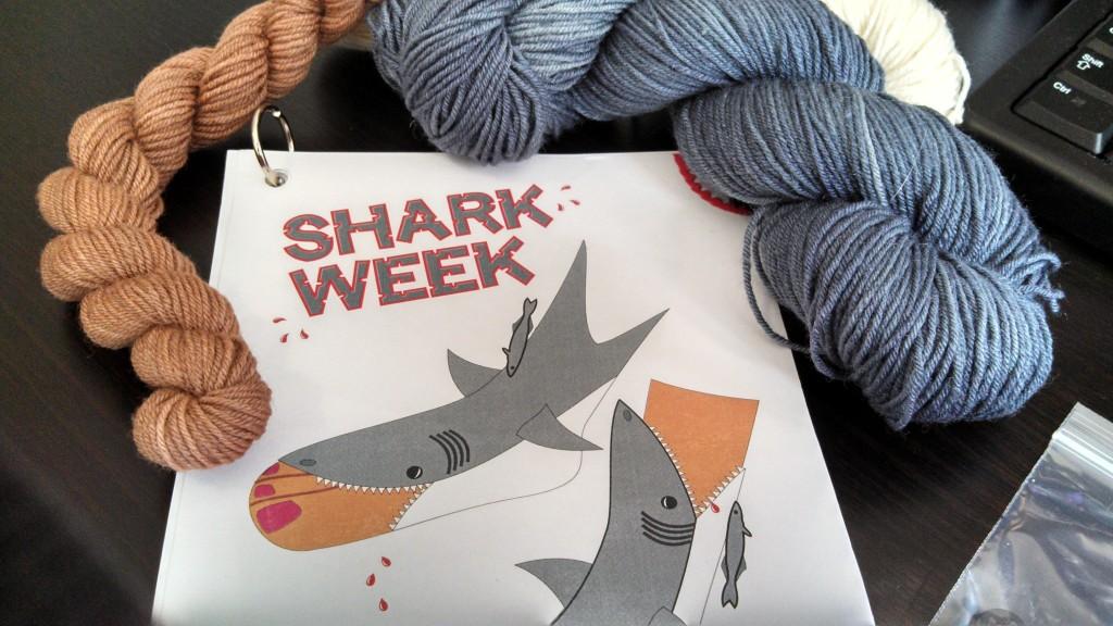 Shark Socks Knitting Pattern : Shark Week Dead Men Do No Crafts